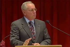 FSU President T. K. Wetherell delivers his fourth State of the University Address